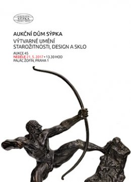 Katalog výtvárné umění, starožitnosti, design a sklo - 45.aukce