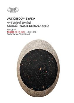 Katalog výtvárné umění, starožitnosti, design a sklo - 47.aukce