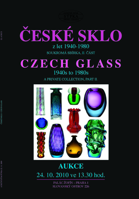 Order of catalogue Czech Glass 2 from 1940-1980
