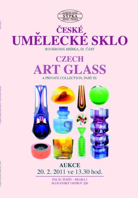 Katalog České umělecké sklo